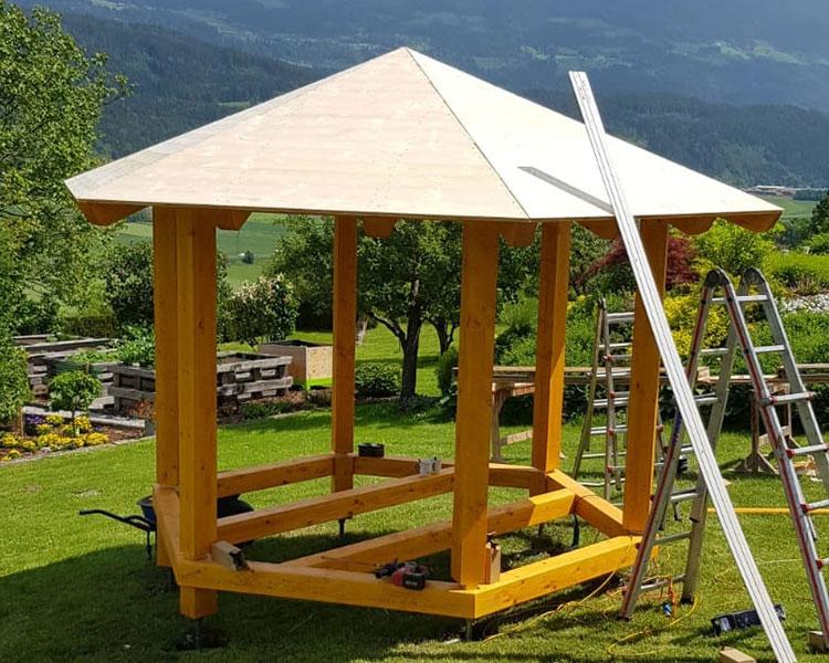 Walder Holzbauten Pavillon